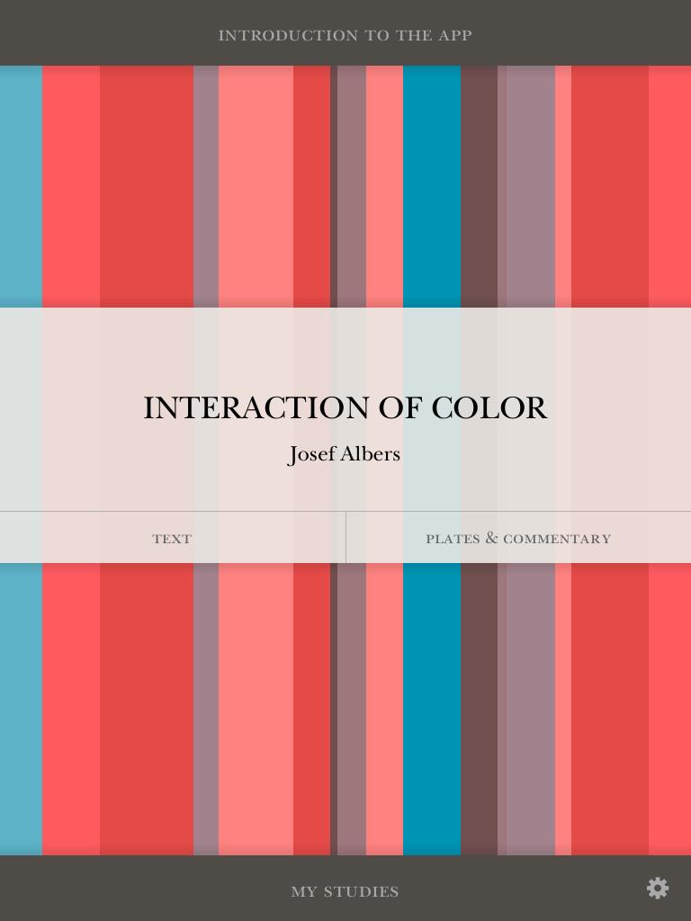josef albers interaction of color ipad app