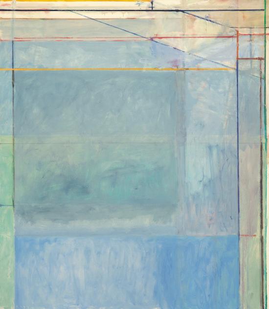 Inspiration Richard Diebenkorn Ocean Park Series Abstract